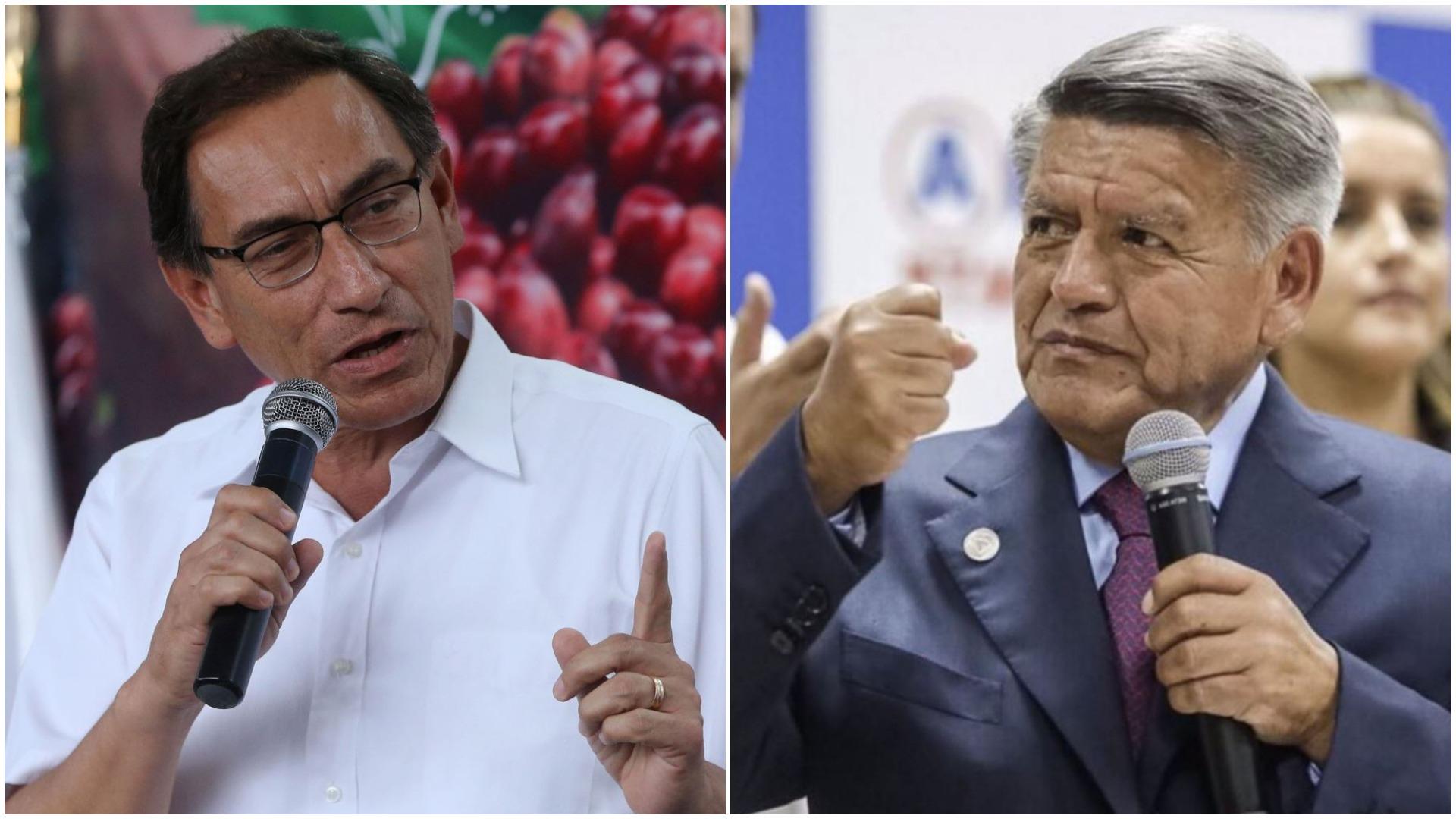 Martín Vizcarra destacó que se debe respetar la decisión del JNE sobre las candidaturas.