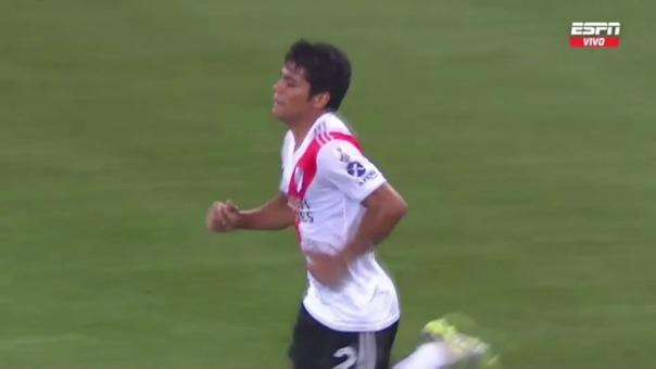 Palmeiras 0-1 River Plate: así fue el gol de Rojas