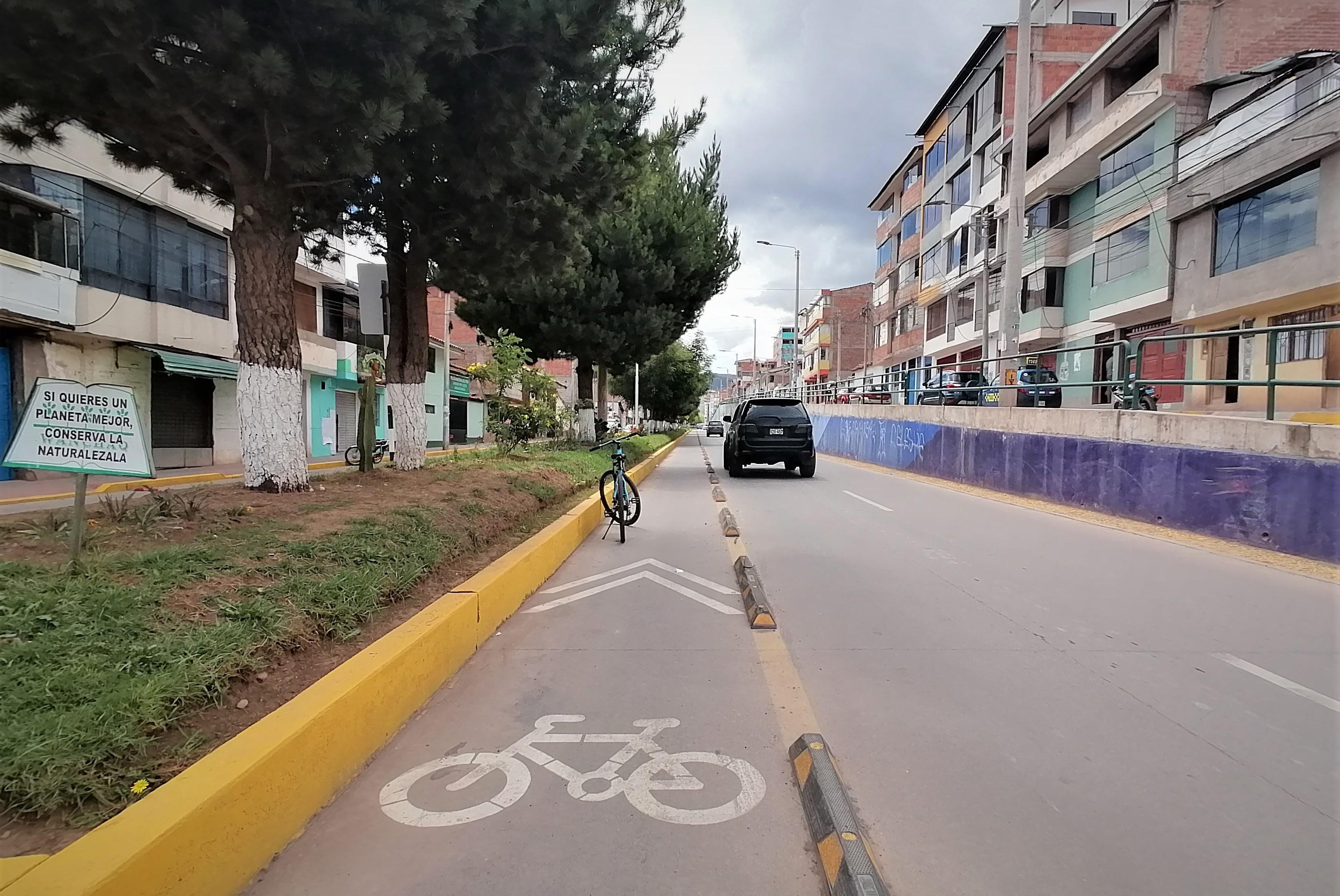 El distrito de Wanchaq es uno de los pocos dentro de Cusco que tiene una visión de movilidad sostenible.