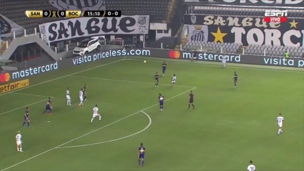 Santos 1-0 Boca Juniors: así fue el gol de Pituca