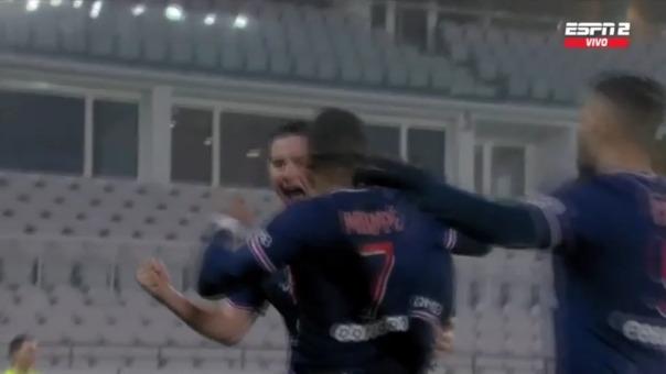 PSG 2-0 Marsella: así fue el gol de Neymar