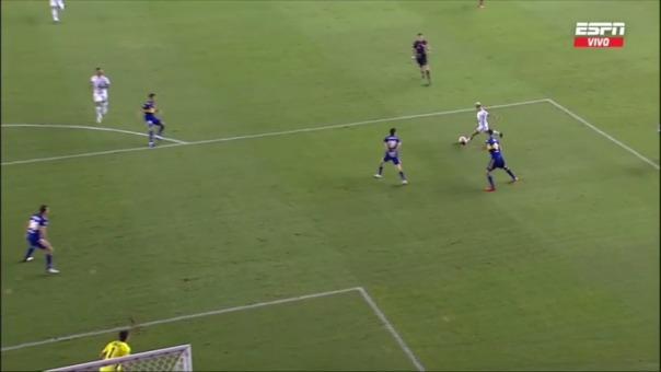 Santos 2-0 Boca Juniors: así fue el gol de Soteldo