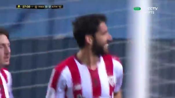 Raúl García anotó el 2-0 de Athletic vía penal