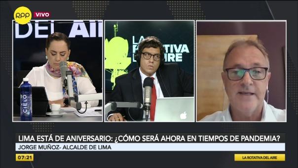 Entrevista a Jorge Muñoz, alcalde de Lima.