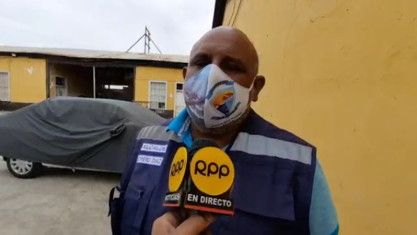 El alcalde de Puerto Eten, Ewerd Díaz Periche, aseguró que la municipalidad asumirá esta situación.