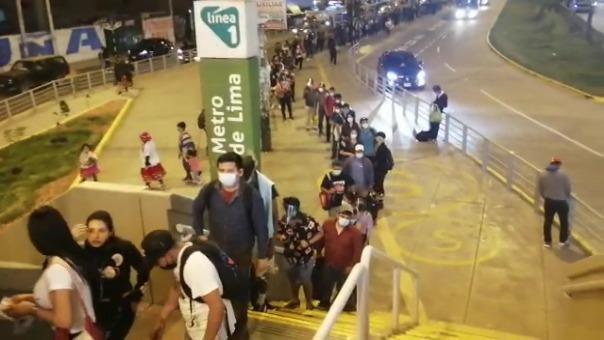 Así luce la estación Atocongo del Metro de Lima