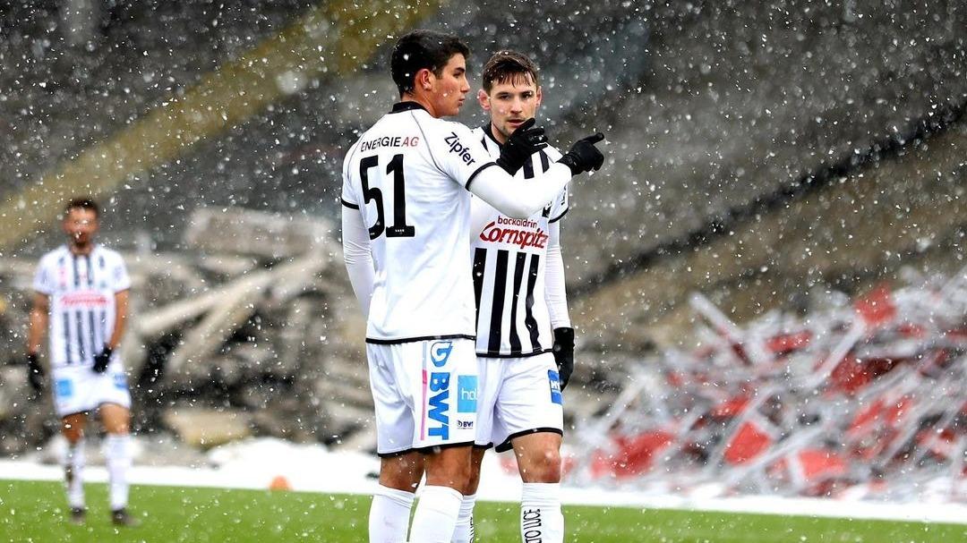 Matías Succar anotó su primer gol con LASK Linz