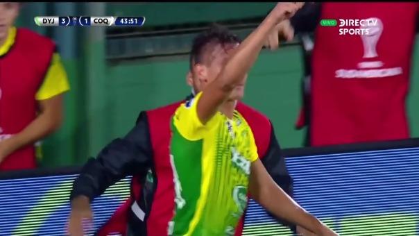 Defensa y Justicia vs Coquimbo: así fueron los tres goles de Romero