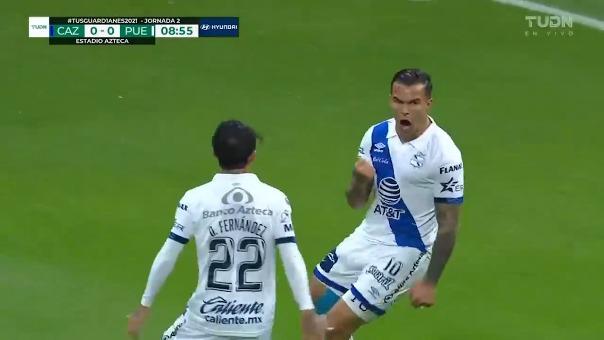 Cruz Azul 0-1 Puebla: así fue el gol de Christian Tabó