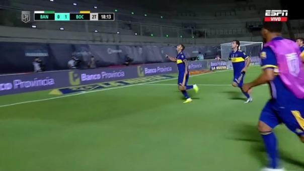 Boca Juniors 1-0 Banfield: así fue el gol de Cardona