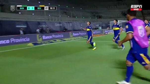 Boca Juniors 1-0 Banfield: así fue el golazo de Edwin Cardona