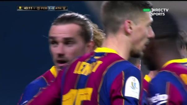 Barcelona  1-0 Athletic Club: así fue el gol de Griezmann