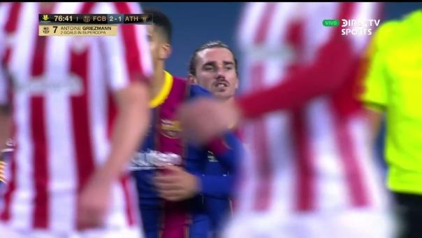 Barcelona vs Athletic Club: así fue el gol de Antonie Griezmann