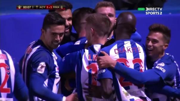 Así fue el gol de Ramón López