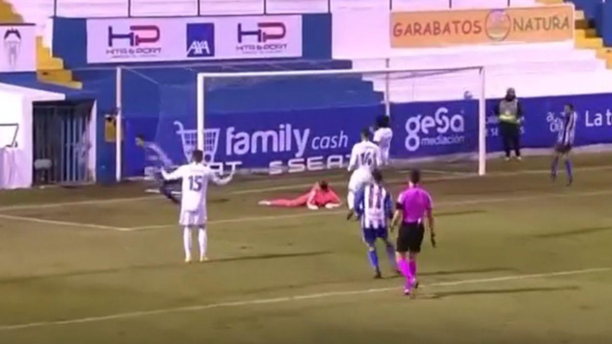 Este fue el 2-1 del Alcoyano sobre Real Madrid por Copa del Rey.