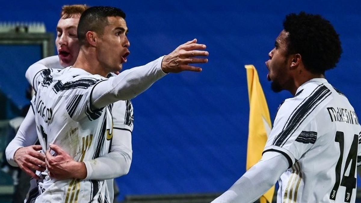 El gol de Cristiano Ronaldo en el Juventus vs. Napoli.