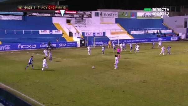 Así fue el gol de cabeza de Militao tras centro de  Marcelo