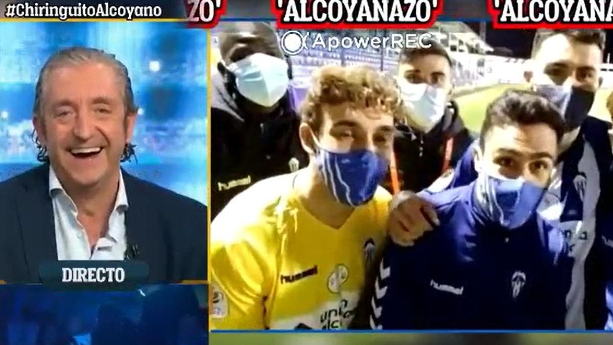 Real Madrid no la vio ante el Alcoyano en El Collao.