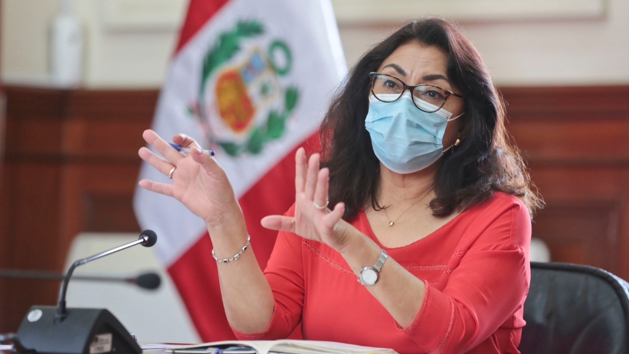 Violeta Bermúdez lideró la conferencia de los ministros.
