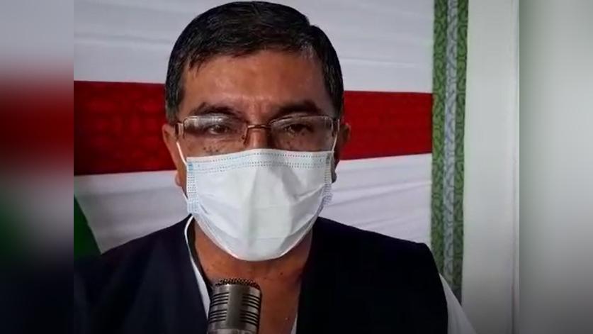 El director regional de Salud, Carlos Calampa, indicó que por las características  y el comportamiento de la diseminación de nuevos casos están frente a la variante de Manaos.