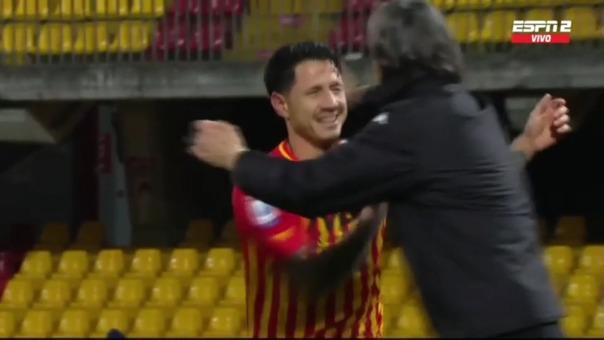 Así fue el gol de Gianluca Lapadula