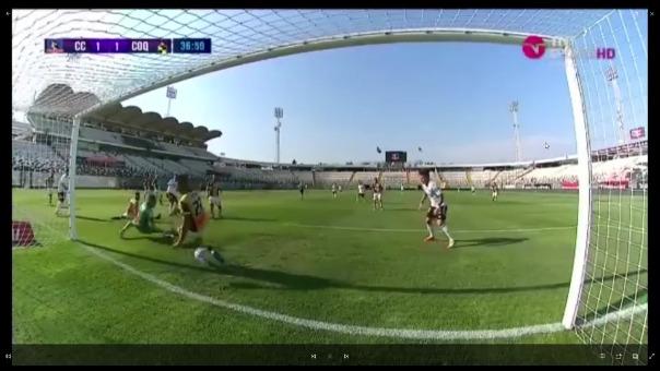Gol de Gabriel Costa ante Coquimbo Unido en Chile