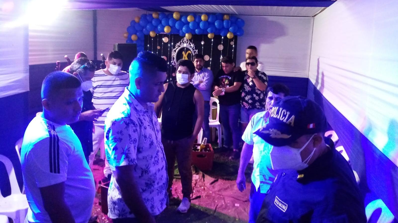 Personal de la Comisaría de José Leonardo Ortiz intervino fiestas clandestinas realizadas en su distrito, las cuales vulneran las normas sanitarias.