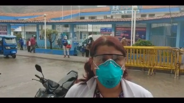 La decana del Colegio Médico de Huánuco, Darly del Carpio, consideró que región debió ser considerada con nivel de alerta
