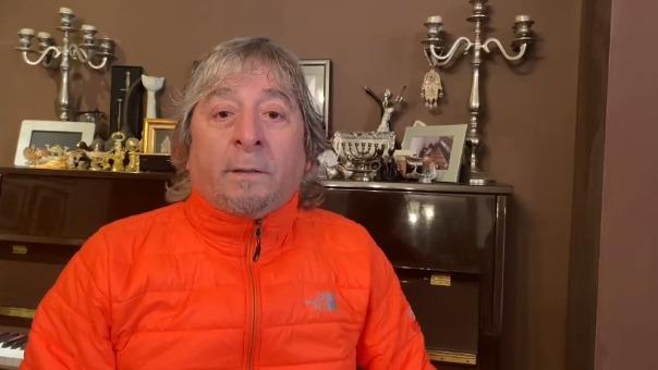 El popular cantante Pelo D' Ambrosio clamó por ayuda para la región Huánuco, debido a la falta de camas UCI y de oxígeno.