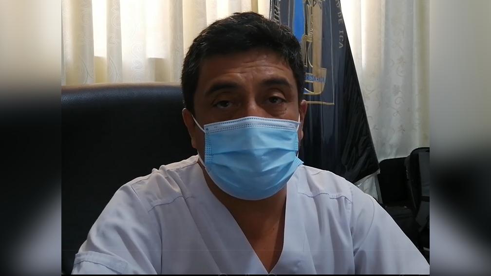 """Marcos Cabrera indicó que ninguna """"autoridad o gobierno local"""" pidió una autorización para realizar la entrega masiva de ivermectina sin prescripción médica."""