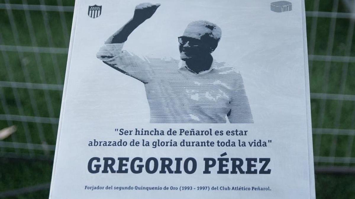 Gregorio Pérez es una leyenda viva del Peñarol.
