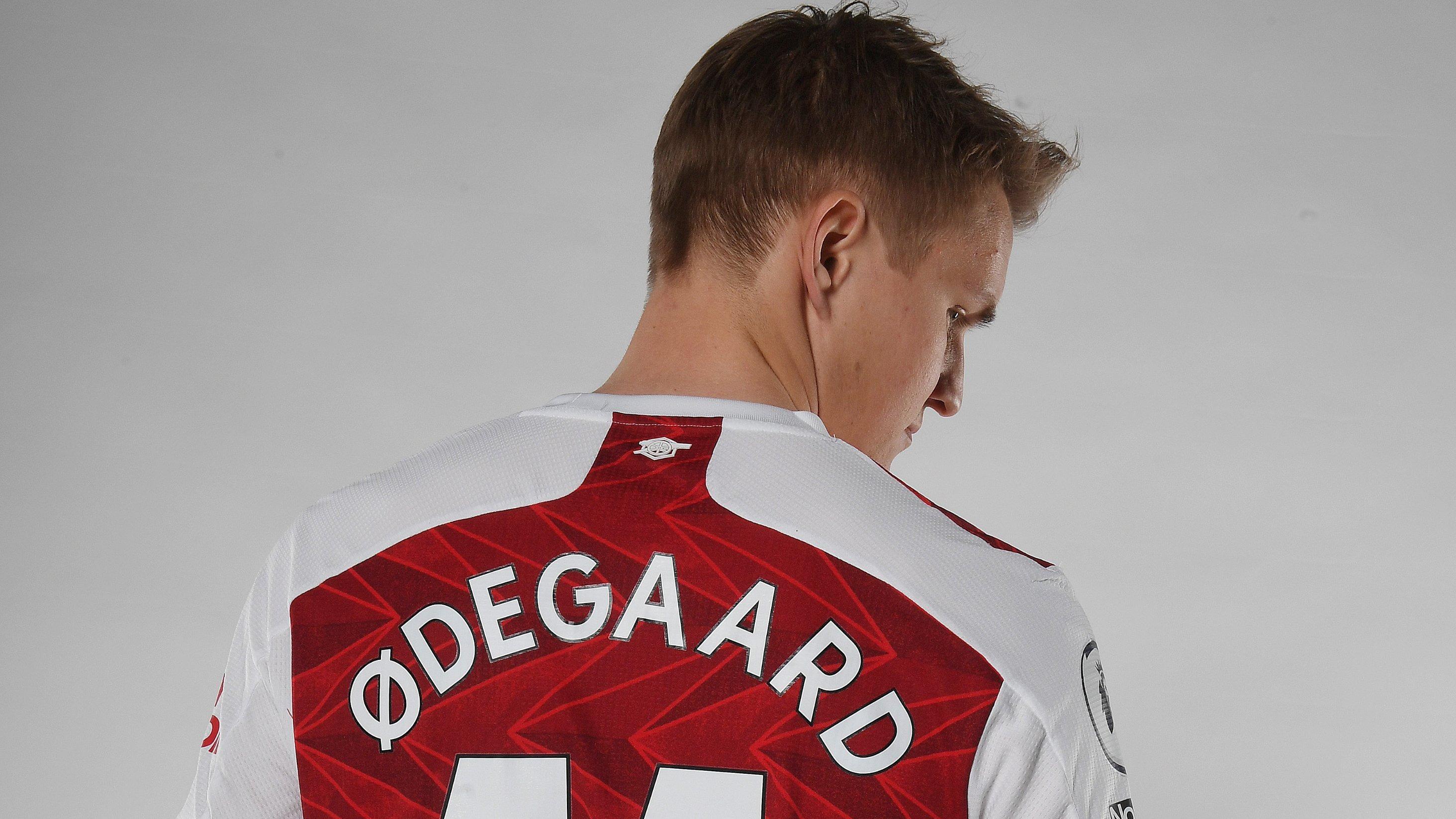 Martin Odegaard jugará con el número 11 en Arsenal