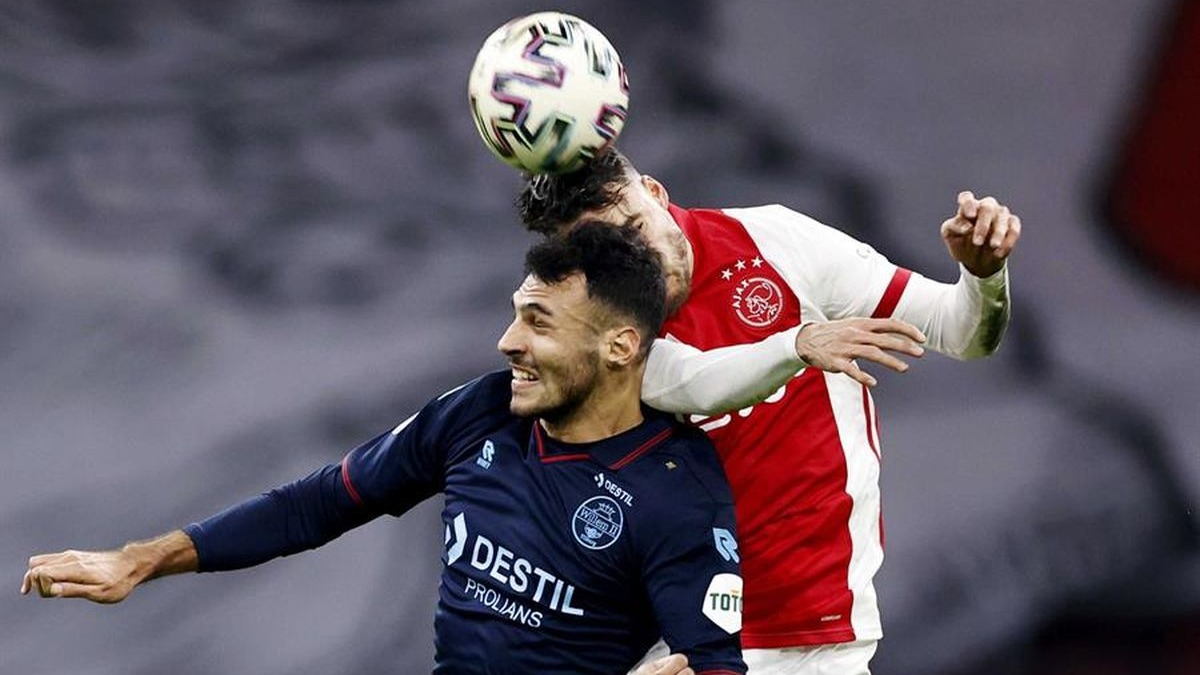 Nicolás Tagliafico es titular habitual en el Ajax de Amsterdam.