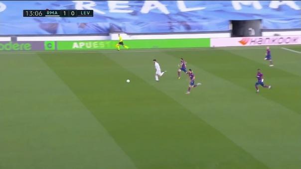 Gol de Marco Asensio ante Levante en el Di Stéfano