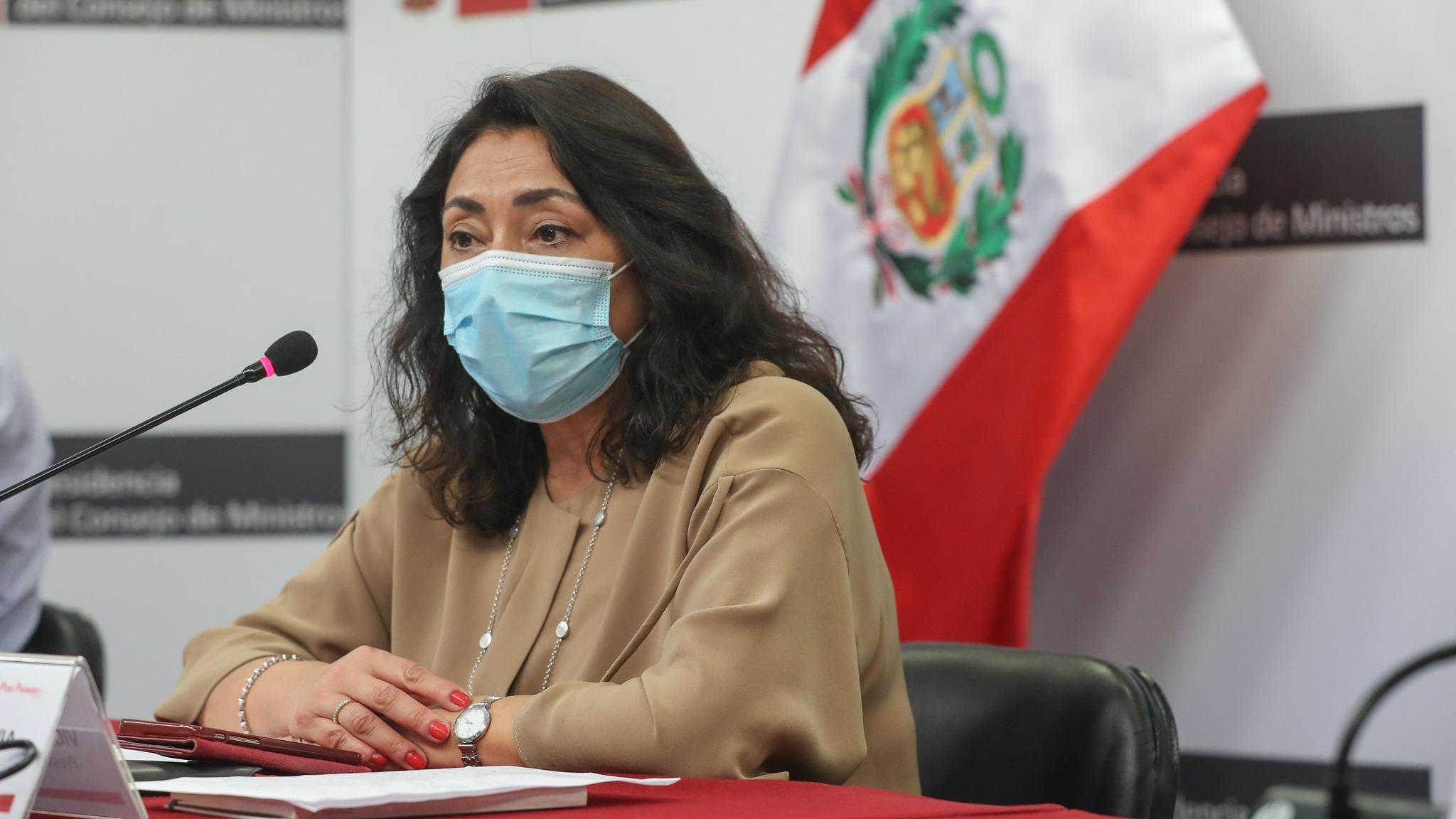 Entrevista a Violeta Bermúdez, presidenta del Consejo de Ministros.