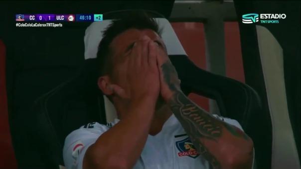 Gabriel Costa se lesionó de la rodilla izquierda