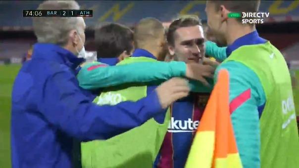 Barcelona vs. Athletic Bilbao: así fue el gol de Antoine Griezmann