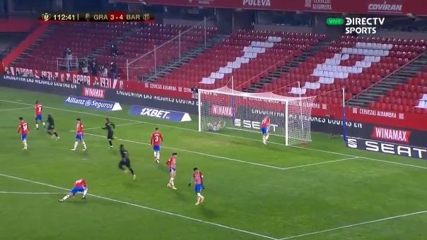 Granada vs. Barcelona: gol de Jordi Alba, pero participaron todos