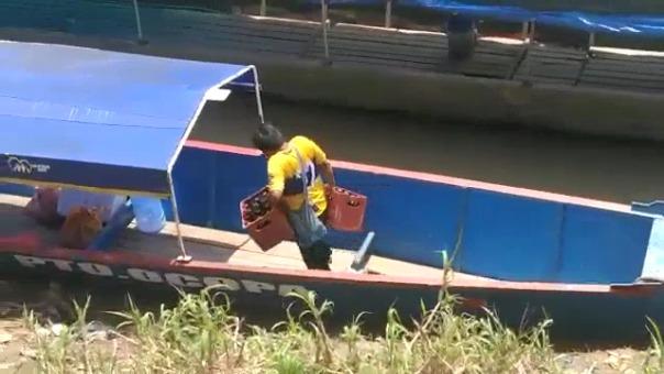 Este es el video que fue difundido por el consejero José Villazana en el que se observa cómo cargan cerveza en la ambulancia pluvial.