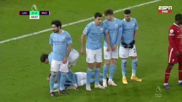 Manchester City vs. Liverpool.
