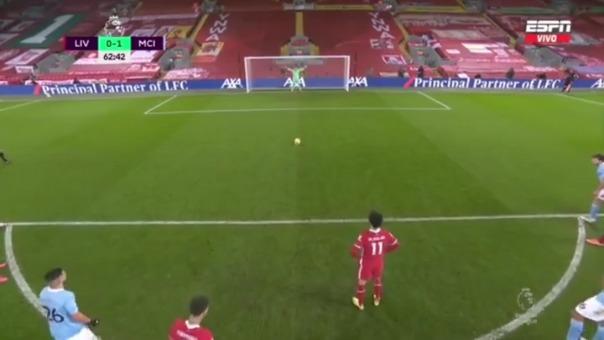 Gol de Mohamed Salah.