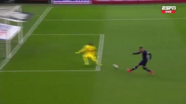 Kylian Mbappé puso el 1-0 ante Olympique de Marsella