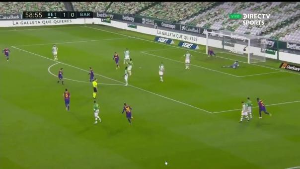 Gol de Lionel Messi.