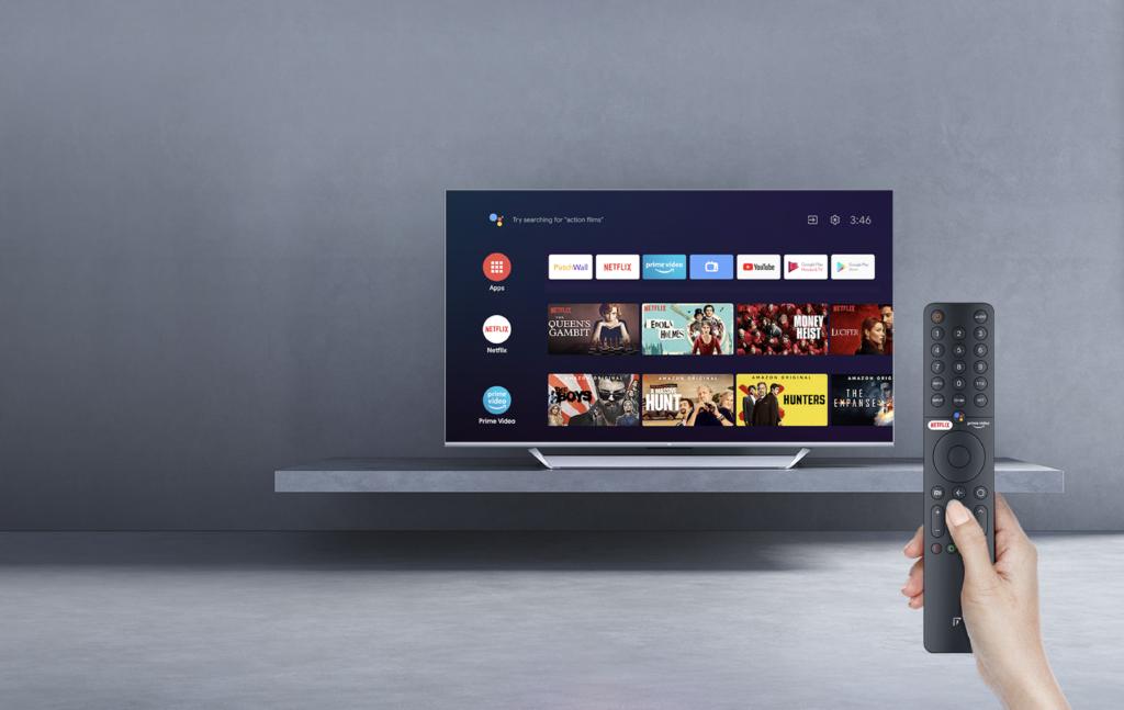 Una pena que solo tengamos Android TV y no Google TV en este televisor