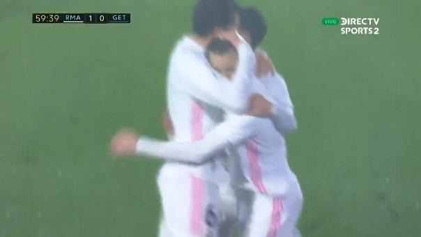 Real Madrid 1-0 Getafe: así fue el gol de Benzema