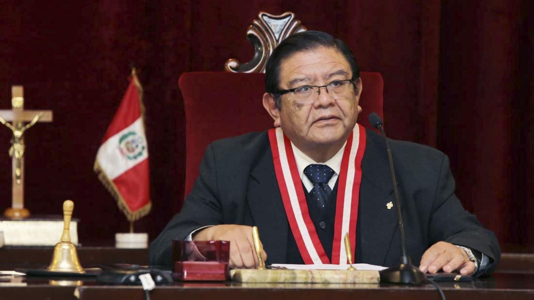 Presidente del JNE descartó favoritismo en el proceso electoral.