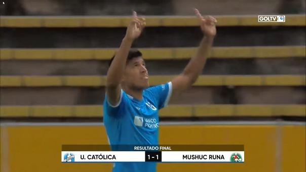 Último gol de Bruno Vides con U. Católica de Ecuador