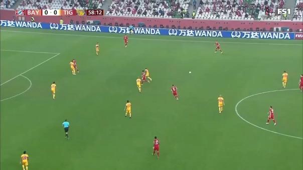 Benjamin Pavard marcó el 1-0 de Bayern Munich ante Tigres.