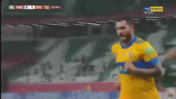 Gol de André-Pierre Gignac ante Palmeiras en 'semis' del Mundial