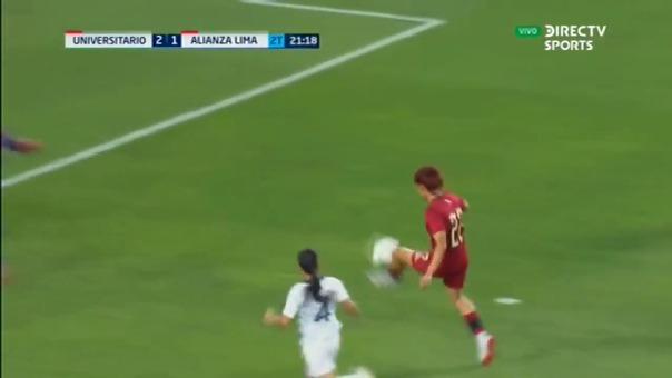 Gol de Cindy Novoa a Alianza Lima en 2019